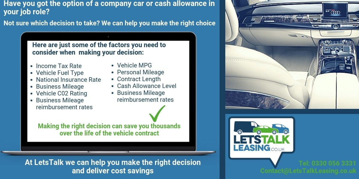 Should You Take A Company Car Or A Car Allowance