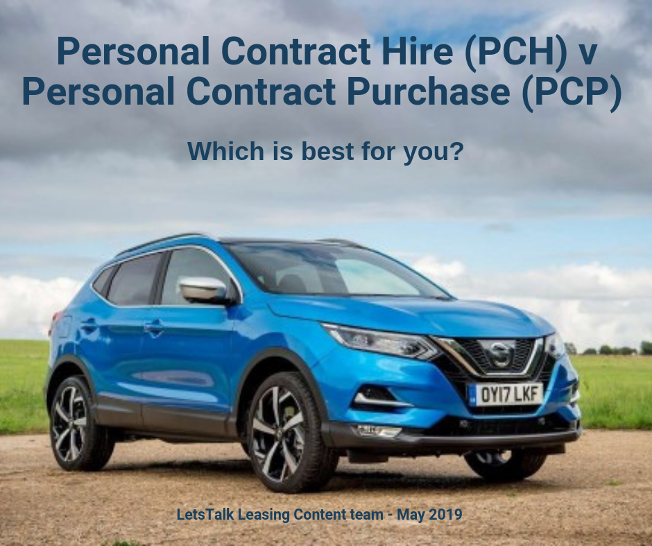 Personal Contract Hire (PCH) V Personal Contract Purchase (PCP) V Outright Purchase