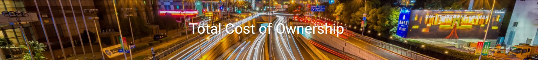 What is Vehicle Leasing Total Cost of Ownership?
