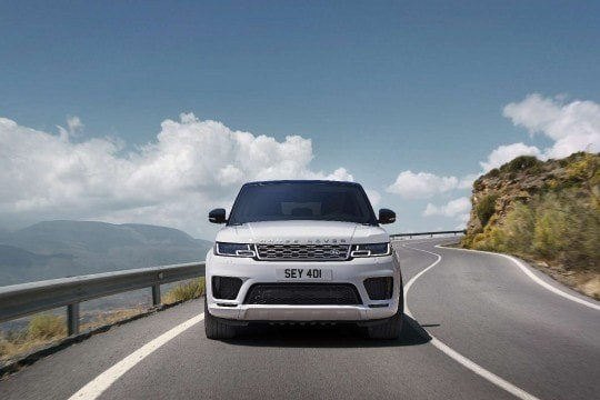 Range Rover Hybrid SUV Driving Experience