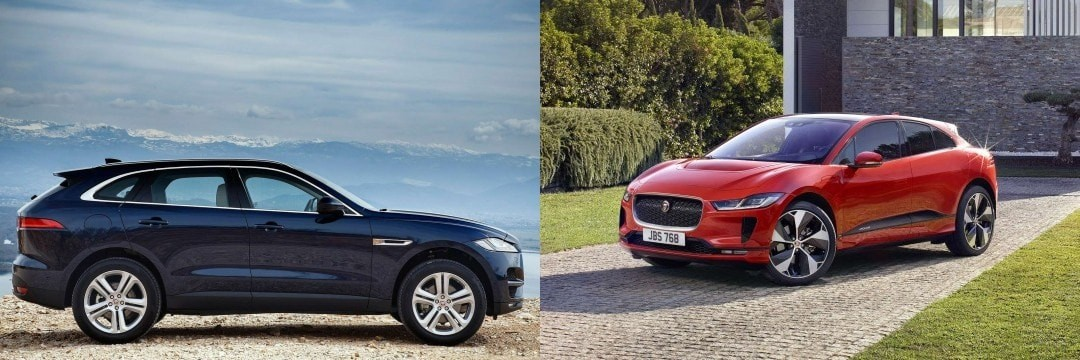 Jaguar I-Pace Electric v F-Pace for Company Car Drivers