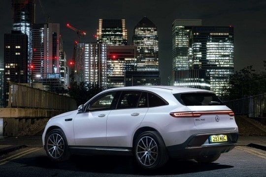 The Stunning New Mercedes EQC Full Electric SUV 2020